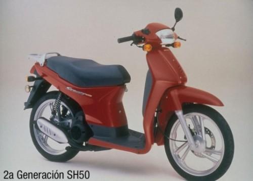 Honda SH Scoopy 49cc
