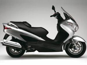 Suzuki BURGMAN 2007 125cc (inyección)